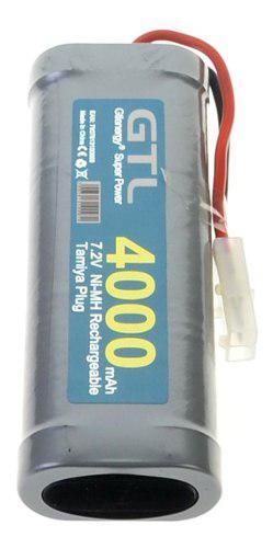 Bateria 7.2 volts 4000 mha nimh p/autos de radiocontrol 1/10