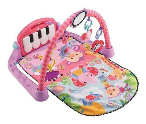 Fisher price gimnasio pataditas musical 4 en 1 en rosa !