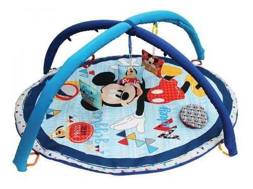 Gimnasio bebe tapete actividades didactico disney mickey rop