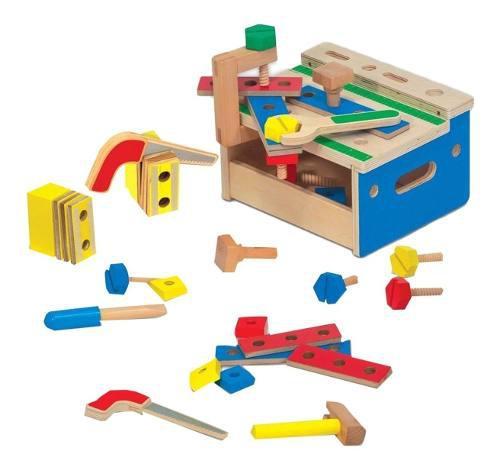 Juego de herramientas de madera para niños - didactico