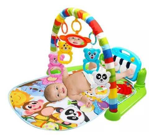 Juguete gimnasio tápate con piano musical para bebe