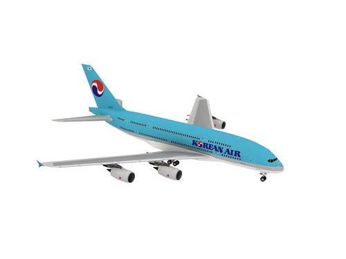 Korean air a380 [papercraft] [armar en papel]