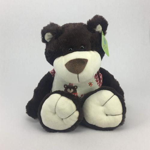 Peluche oso color chocolate 45cm regalo precio mayoreo