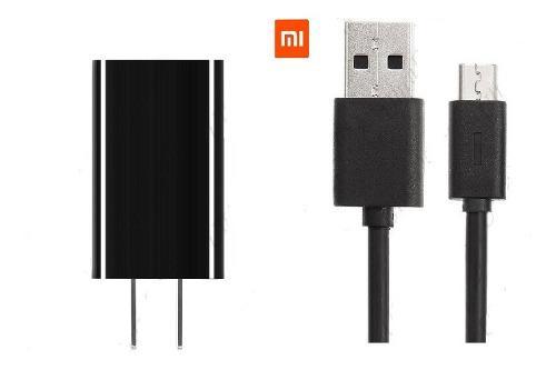 Cargador xiaomi original carga rápida + cable micro usb