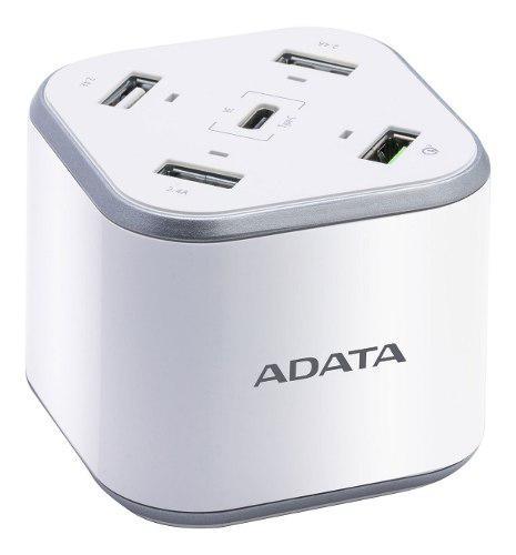 Estacion carga rapida adata 5 puertos tablet android iphone