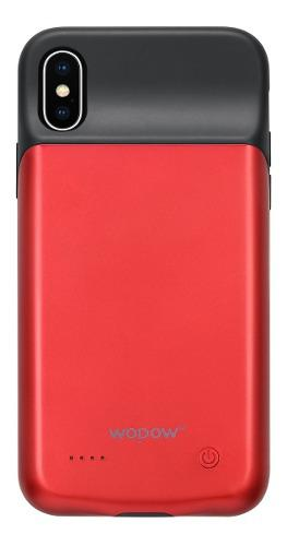 Funda cargador iphone x xs bateria externa power bank wopow