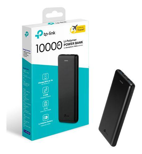 Power bank 10000mah tp-link bateria portatil ultra ligera