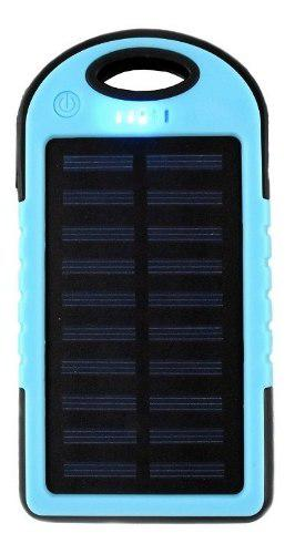 Power bank 5000mah bateria cargador solar para celulares