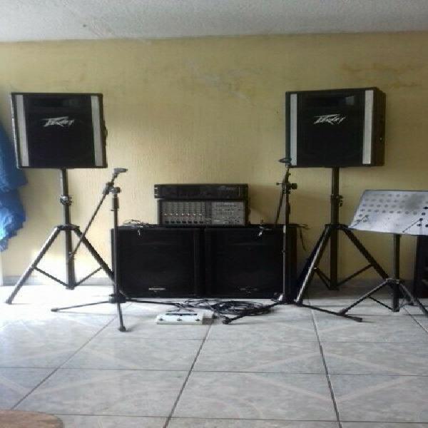 Se vende equipo de sonido todo completo o en partes