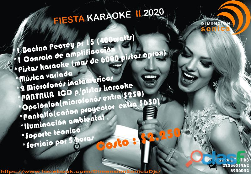 Servicios de karaoke 2020