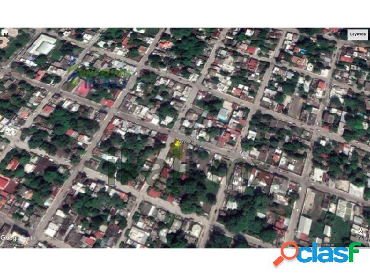 Renta terreno 418 m² col. santiago de la peña tuxpan veracruz, santiago de la peña