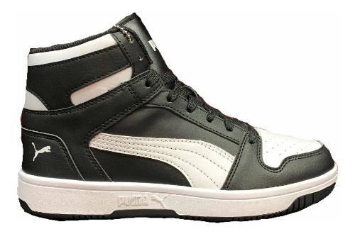 Botas puma rebound layup negro 369573-01 look trendy