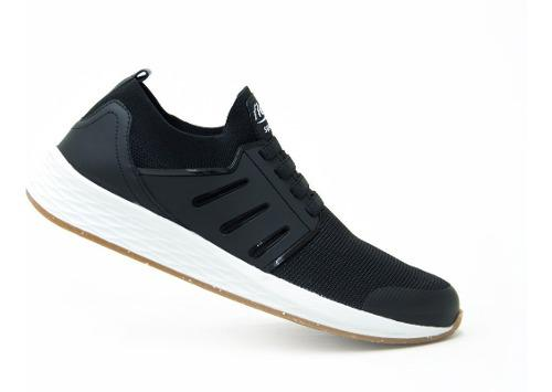Flexi caballero zapatos urbanos casual 97405 negro original