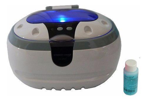 Limpiador de joyeria ultrasonico tanque de acero inox vbf