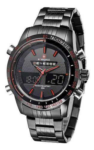 Reloj resistente al agua de acero inoxidable para hombres
