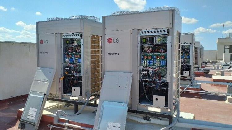 Suministro, mantenimiento e instalación de aire