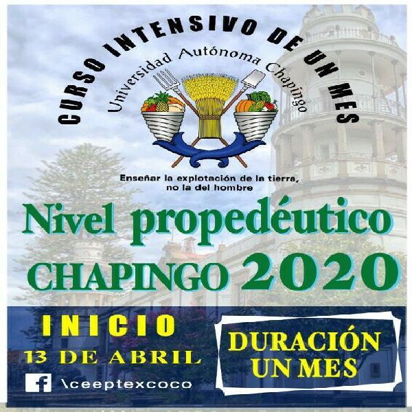 Curso chapingo 2020