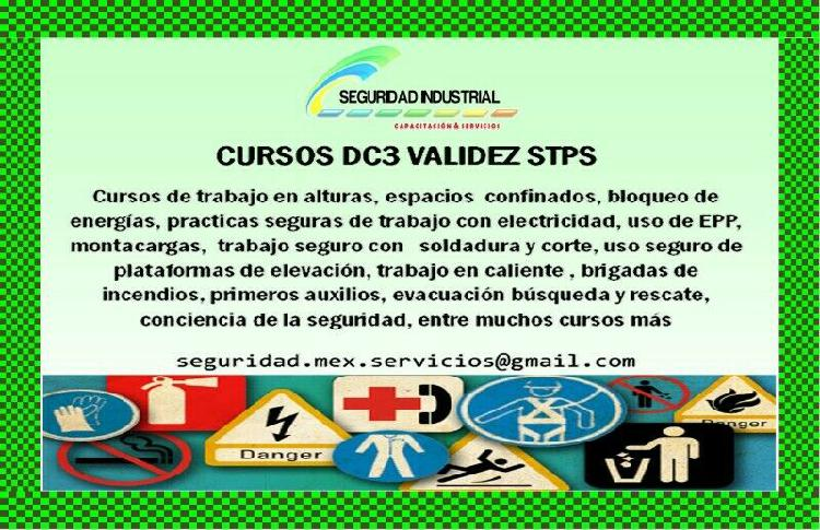 Dc3 cursos seguridad industrial dc3