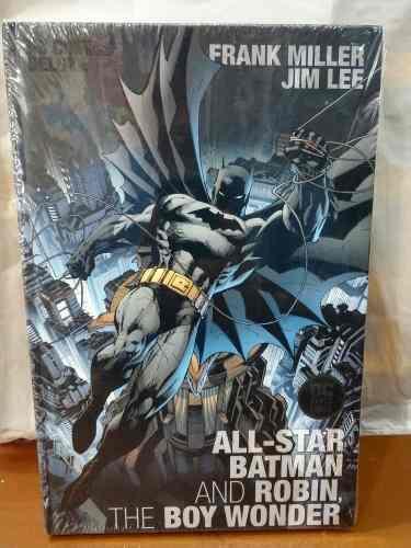 All star batman & robin deluxe español complet the boy