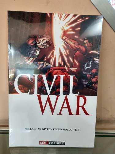 Civil war marvel comics grandes eventos nuevo envío gratis