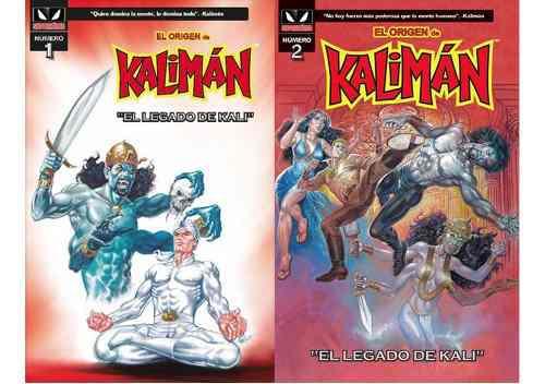 Comics el origen de kaliman 1 y 2 kamite nuevos