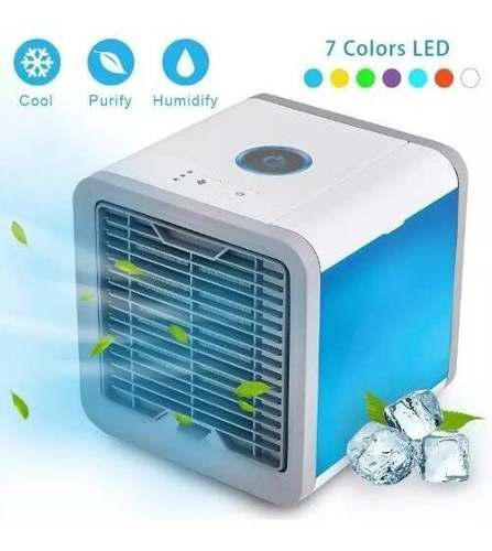 Enfriador de aire 3 en 1 mini ventilador humidificador