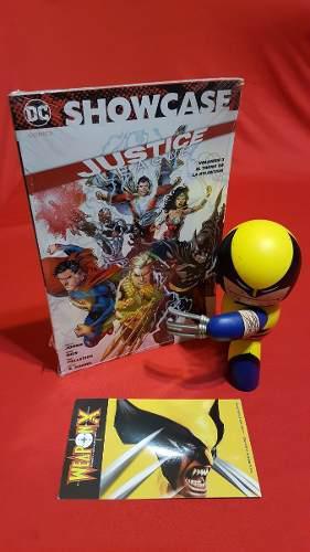 Justice league,trono de atlantis showcase #3 edit.televisa