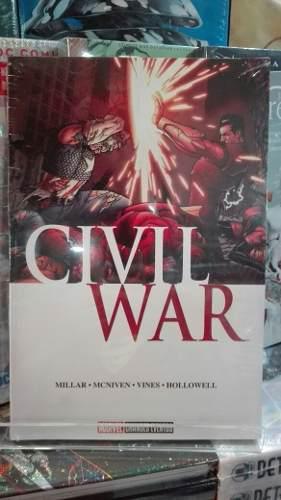 Marvel cómics civil war nuevo