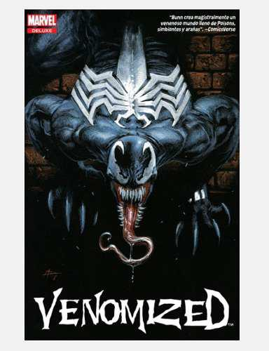 Marvel comics deluxe: venomized · venom