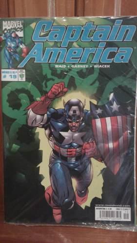 Marvel comics presenta # 19: captain america