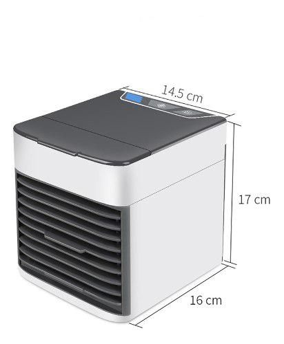 Mini ventilador con aire acondicionado usb pórtatil