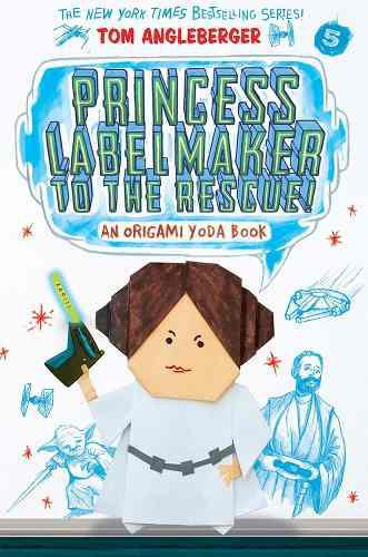 Princess labelmaker to the rescue (inglés) pasta blanda