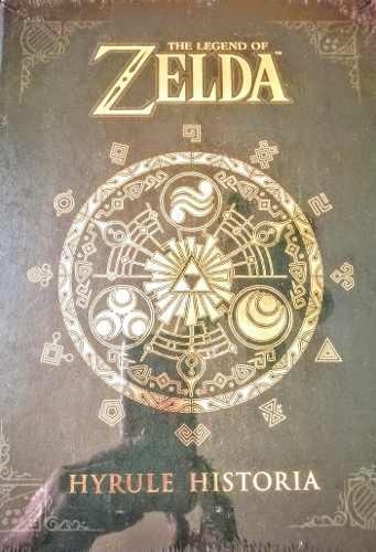 The legend of zelda hyrule historia libro en inglés nuevo