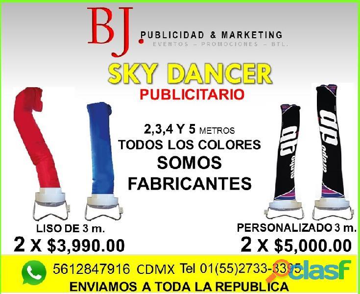 SKY DANCER LISO O PERSONALIZADO