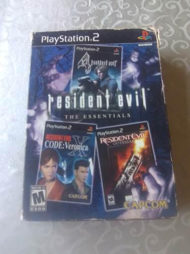 Colección resident evil the essentials playstation 2 ps2