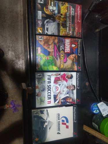 Juegos playstation 2 kit 8 juegos usados