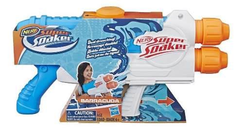 Lanzador nerf super soaker barracuda