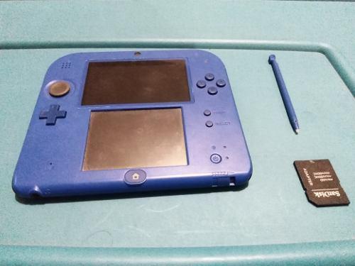 Nintendo 2ds (17 juegos digitales)