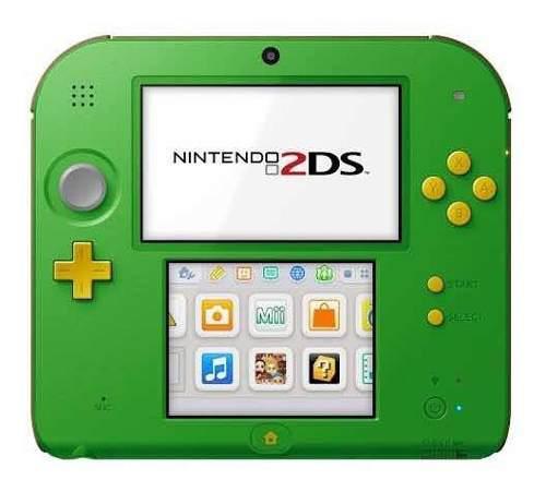 Nintendo 2ds versión link verde