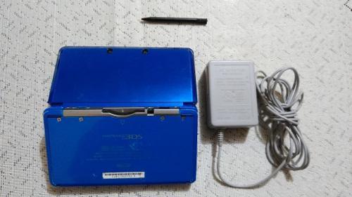 Nintendo 3ds azul cobalto edición especial japonesa con