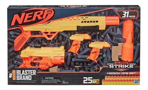 Set nerf alpha strike kit de misión de 31 piezas