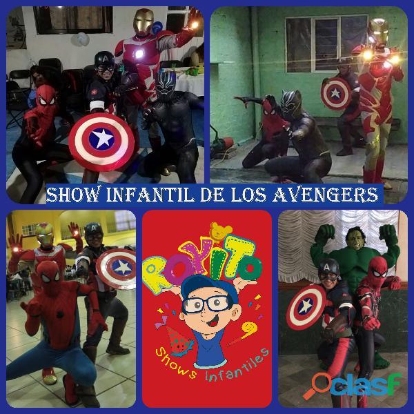 Show infantil de los avengers