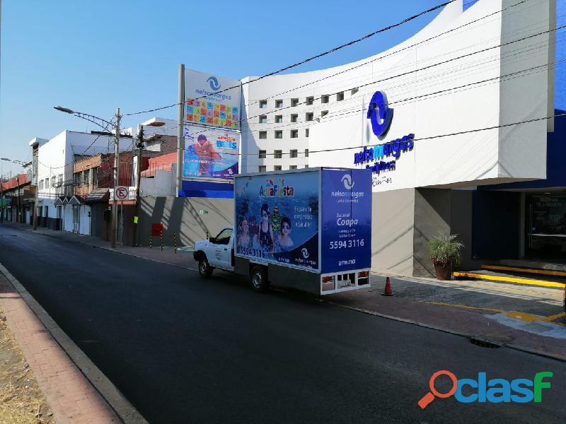 Vallas móviles en calpulalpan, tlaxcala