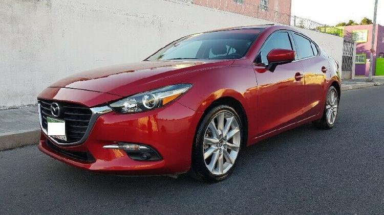 Mazda 3 sedan 2017 standar 2.5l sport el mas equipado unica