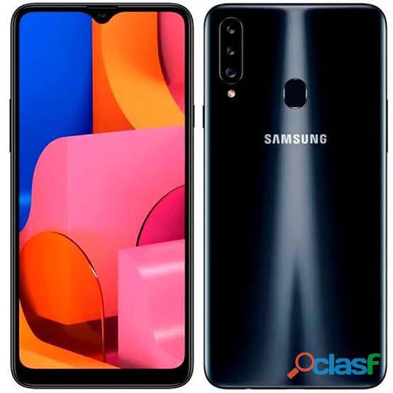 Samsung a20s nuevo de. paquete. impecable