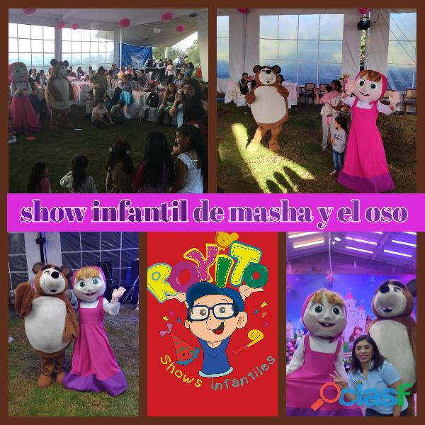 Show infantil de masha y el oso