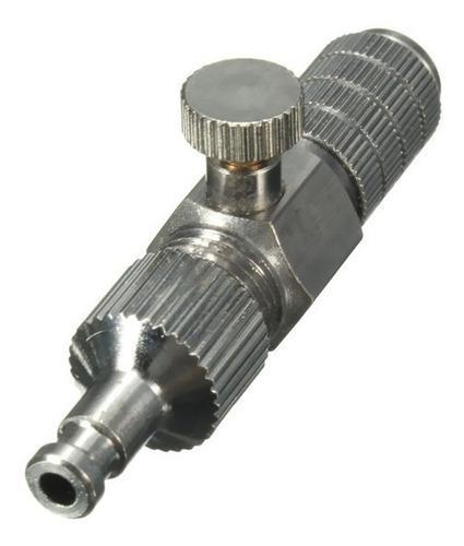 Adaptador de liberación rápido manguera de aire aerógrafo