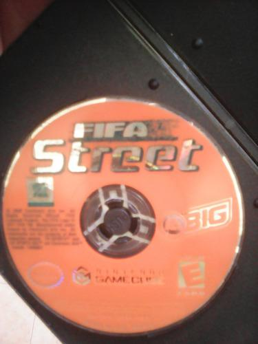 Juego Fifa Street Game Cube (disco Sin Caja)