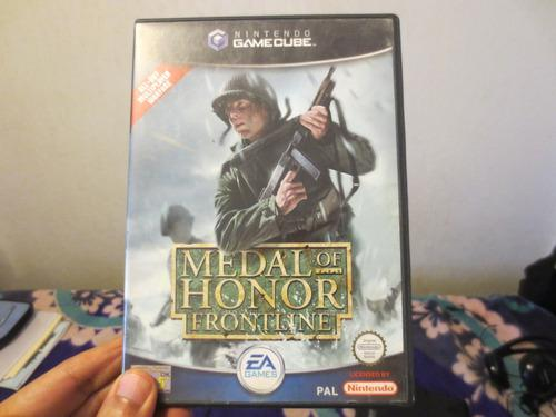 Juego Medal Of Honor Frontline Nintendo Game Cube Completo