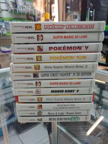 Juegos 3ds, xbox, ps, gamecube, nintendo 64 !!todo de remate